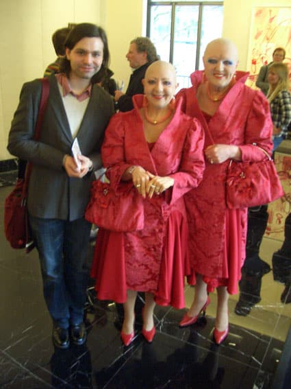 Gabriel Baradee und Eva und Adele