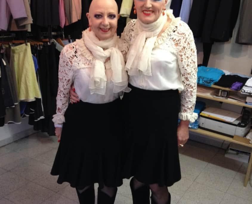 Eva und Adele 2014 im Shakkei Atelier