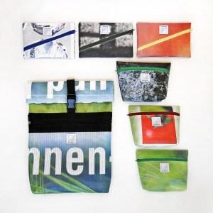 Shakkei Upcycling Bags aus Baugerüstplane