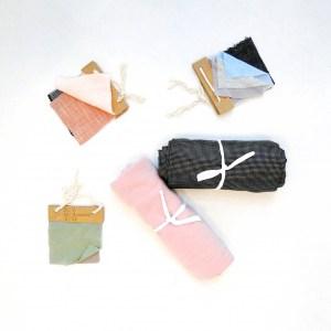 Kleidungsstücke in anderen Stoffen oder Farben auf Anfrage