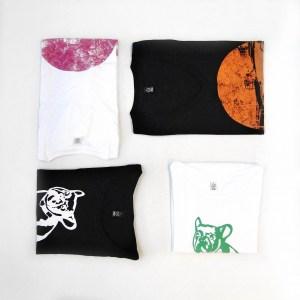 T-Shirts aus Biobauwolle für Damen und Herren