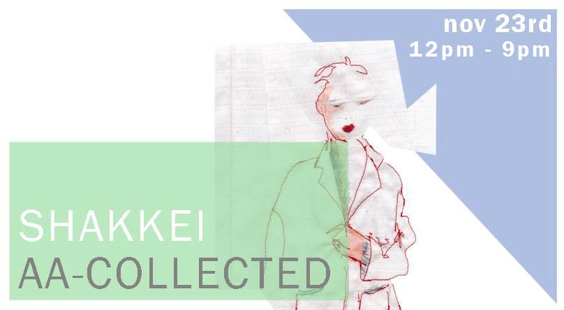 Shakkei zu Gast bei AA Collected Berlin