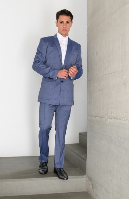 Anzug blau
